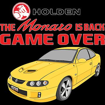 The Monaro Is Back Game Over - Yellow by holdenfanpage