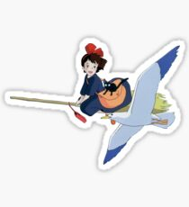 Kiki little witch - Hayao Miyazaki sticker Sticker