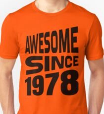 Awesome Since 1978 Slim Fit T-Shirt