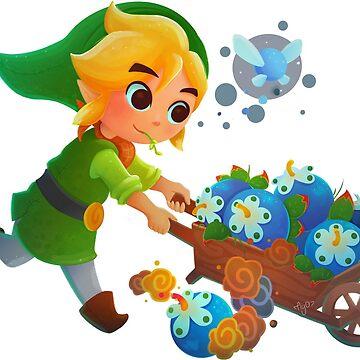 Hey Link! Listen! It's Spring! by Emeryl
