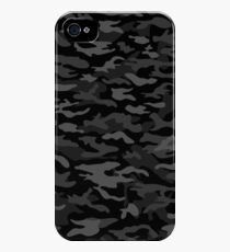NEW AGE BLACK CAMOUFLAGE DESIGN iPhone 4s/4 Case