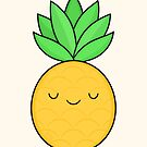 Happy Pineapple by kimvervuurt