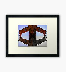 Four Corners (Japan) Framed Print