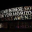 Millenium centre at Cardiff bay by Maureen Brittain