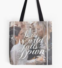 As the world falls down - Labyrinth Tote Bag