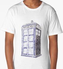 Tardis - Dr Who Long T-Shirt
