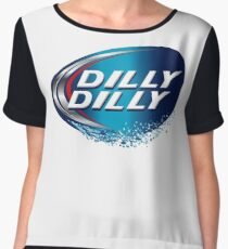 dilly dilly bud light meaning T-shirts Chiffon Top