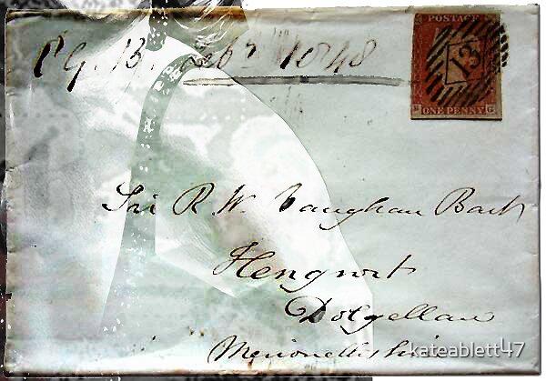 Altered Envelope by kateablett47