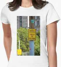 Signs of New York Women's Fitted T-Shirt