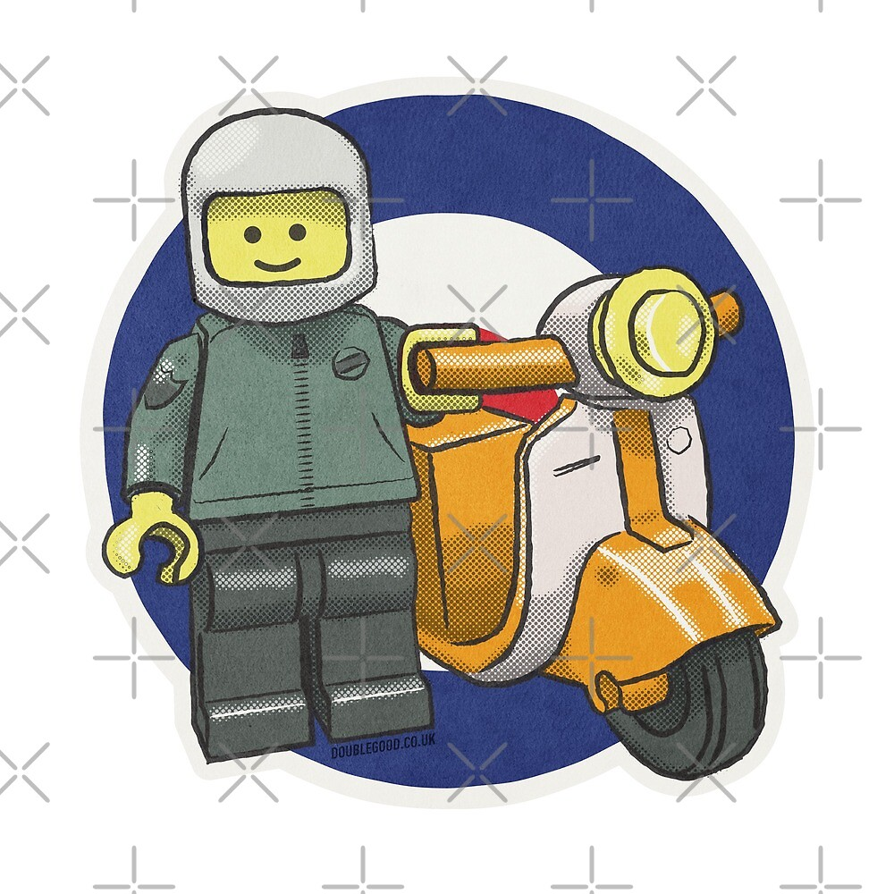 Bricktoy Scooterboy by DoubleGood