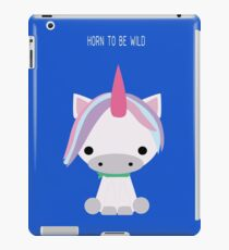 Horn to be wild iPad Case/Skin