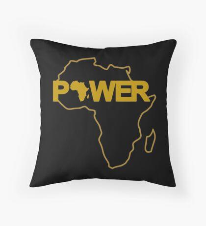 Black Power 3.0 Throw Pillow