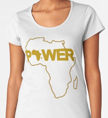 Black Power 3.0 Women's Premium T-Shirt