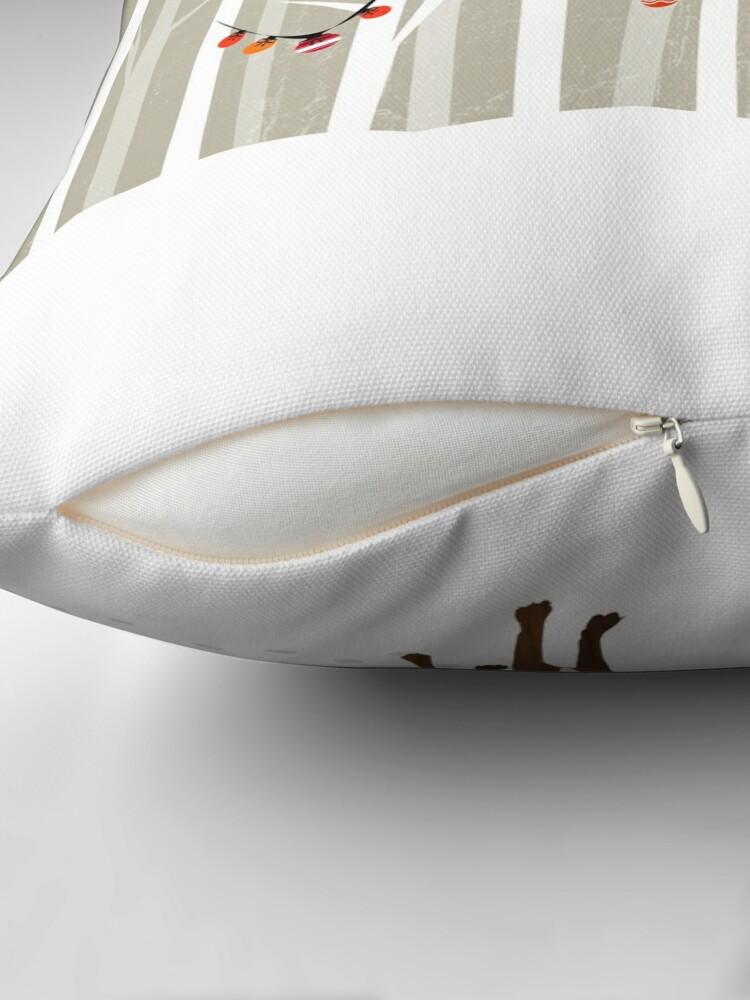Alternate view of December Throw Pillow