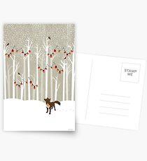Dezember Postkarten