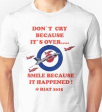 Vulcan Final Flight With The Red Arrows - Tee Shirt Unisex T-Shirt