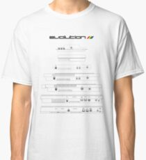 Sinclair Evolution in White Classic T-Shirt