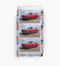 Ford Mustang Hardtop Duvet Cover