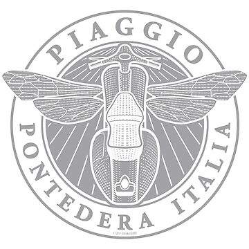 Piaggio Pontedera Italia (light print) by DoubleGood