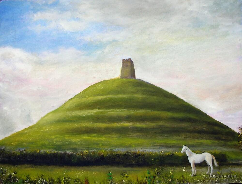 Glastonbury Tor  by dashinvaine