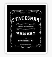 'STATESMAN' Kentucky Bourbon Print Sticker