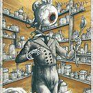 Boneset by Sandro Castelli, for Shimmer #40 by bethwodzinski