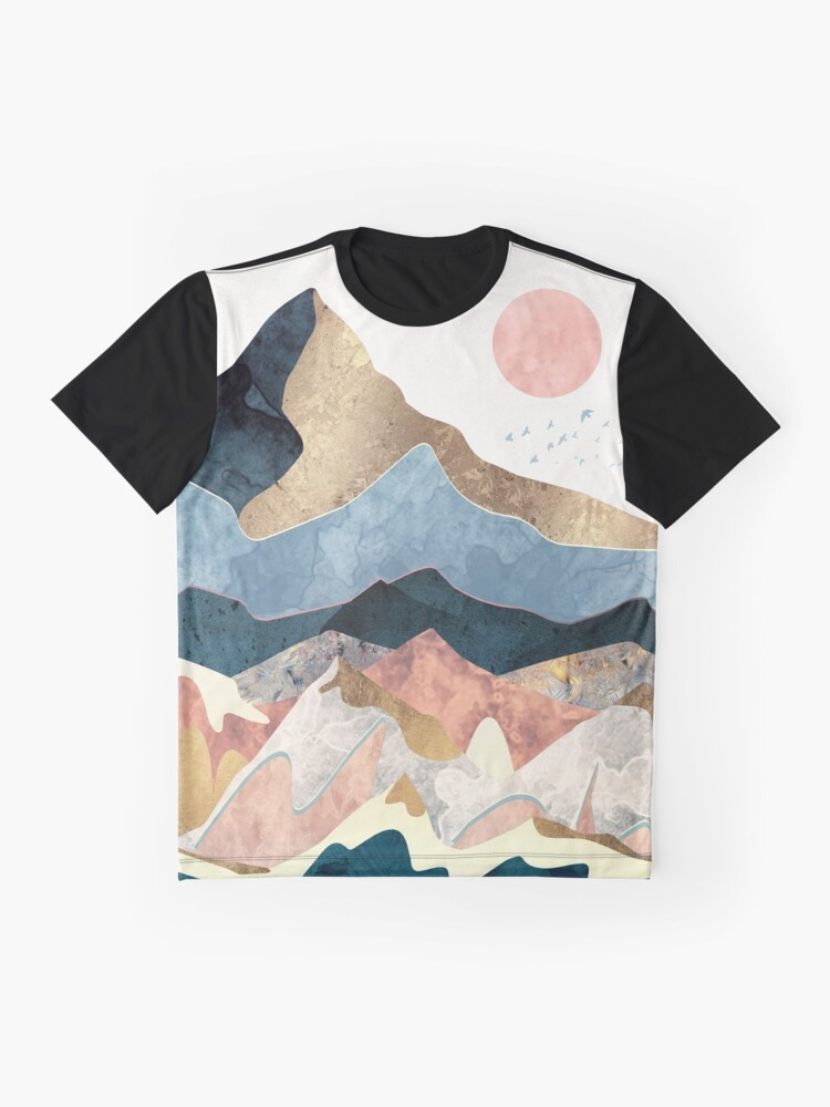 Alternate view of Golden Peaks Graphic T-Shirt