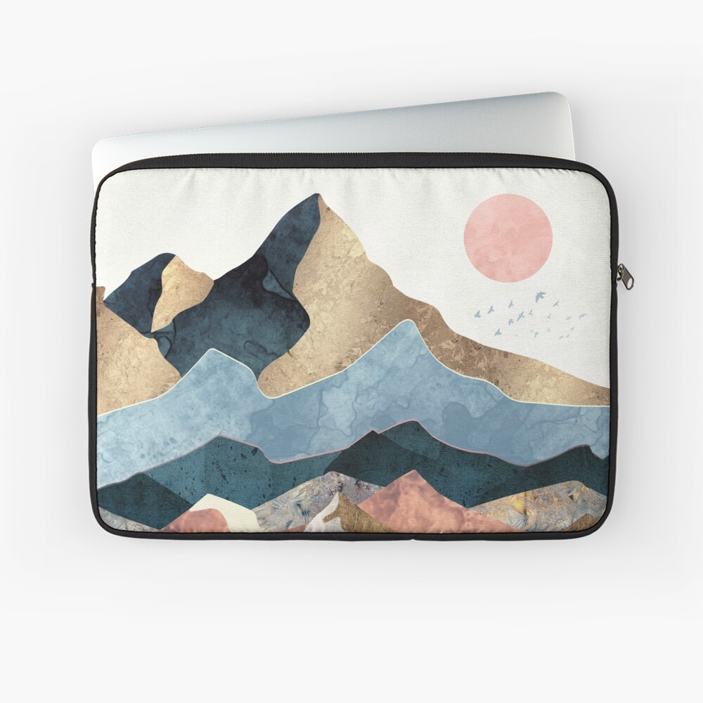 Golden Peaks Laptop Sleeve