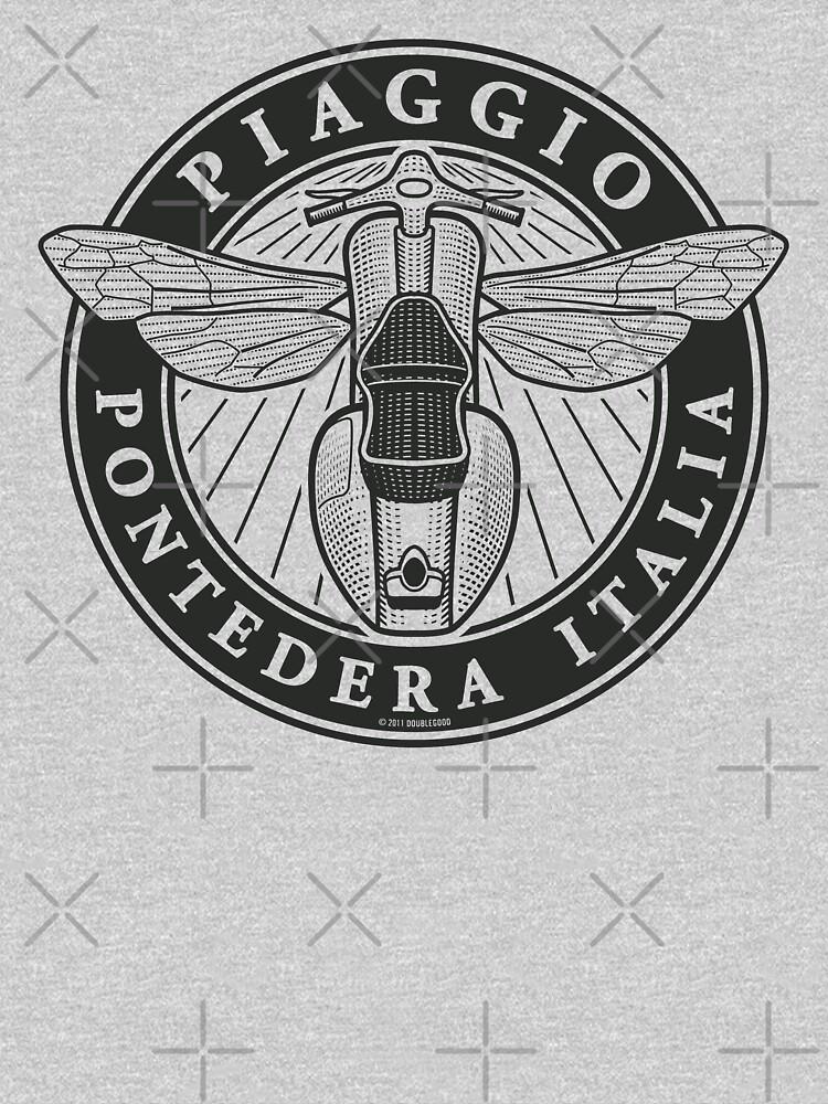 Piaggio Pontedera Italia (dark print) by DoubleGood