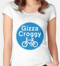 Gizza Coggy Products Women's Fitted Scoop T-Shirt