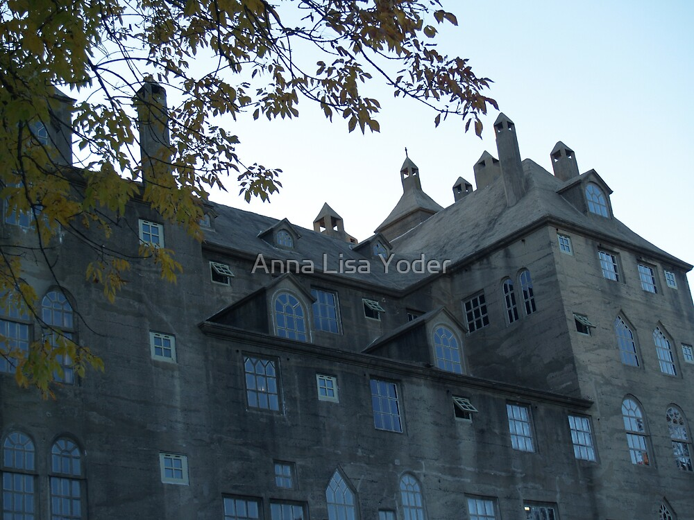 Mercer Museum at Dusk, Doylestown by Anna Lisa Yoder