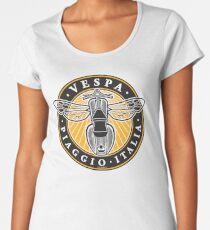 Vespa Piaggio Italia Women's Premium T-Shirt