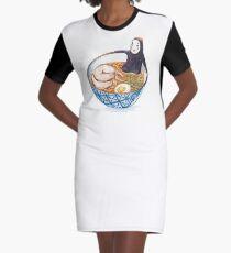 Spirit Ramen Bath Graphic T-Shirt Dress