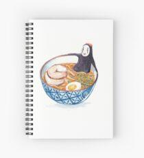 Spirit Ramen Bath Spiral Notebook