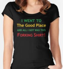 Forking Shirt Women's Fitted Scoop T-Shirt