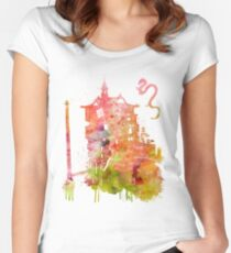 Bath House Women's Fitted Scoop T-Shirt