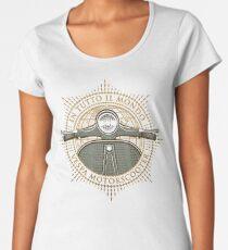 Vespa - In Tutto Il Mondo (gold) Women's Premium T-Shirt