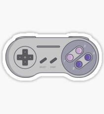 Super Nintendo Controller Sticker