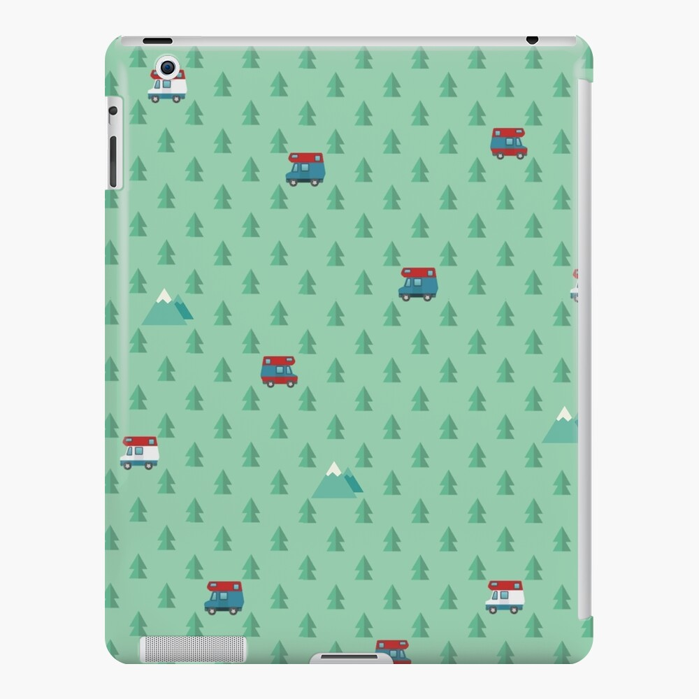 Animal Crossing pocket camp trees campers iPad Case & Skin