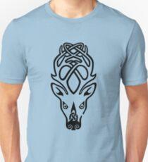 Skyrim inspirierte Minimaldruck - Falcreath Slim Fit T-Shirt