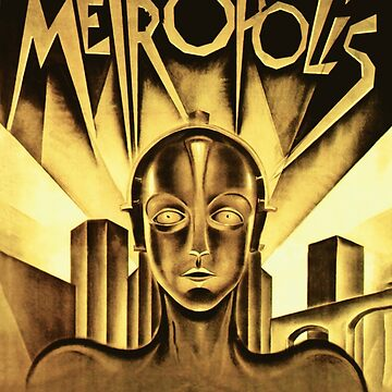 Metropolis movie poster by eddycasanta