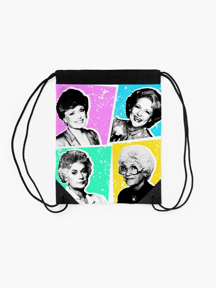 Alternate view of Golden Girls POP! Drawstring Bag