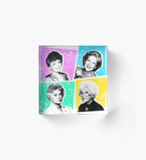 Golden Girls POP! Acrylic Block