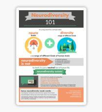 Neurodiversity 101 Sticker