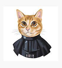 Star wars cat  Photographic Print