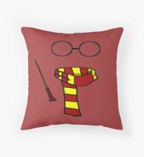 Wizard Starter Pack Throw Pillow