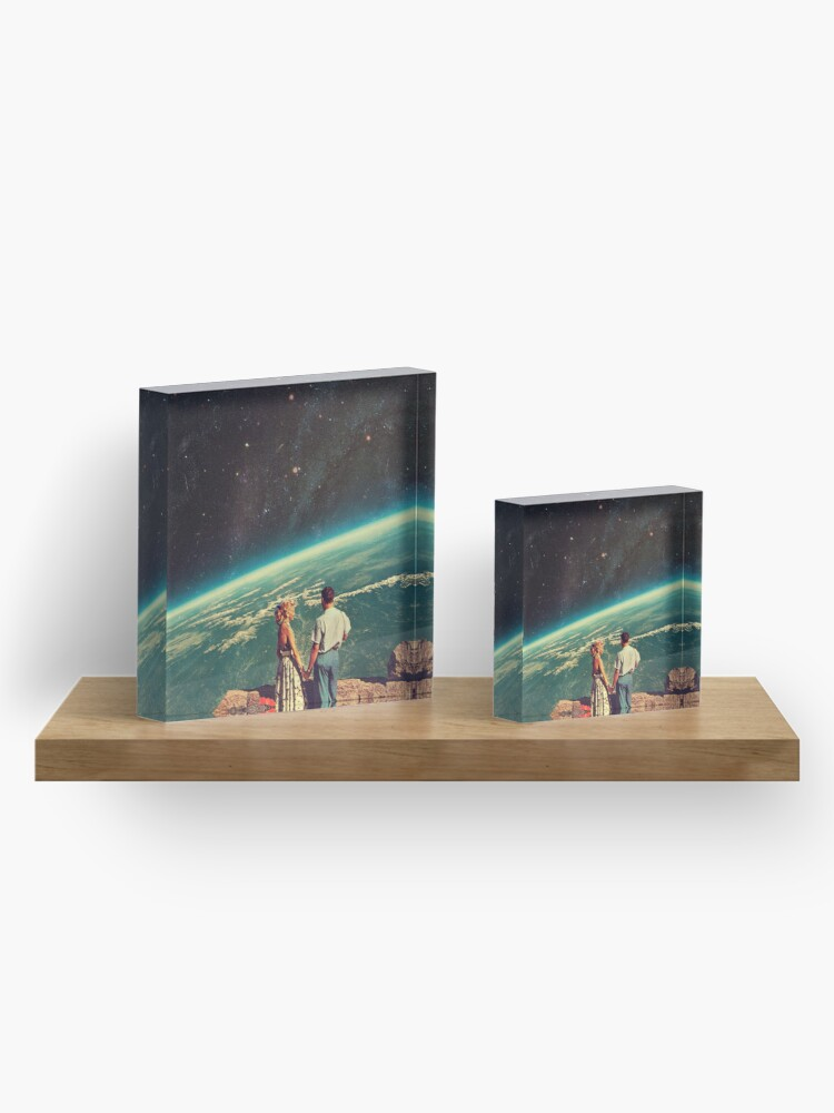 Alternate view of Love Acrylic Block
