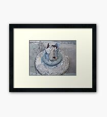 Reminders Of A Natural Disaster Framed Print