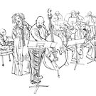 McB Big Band by Keith Henry Brown