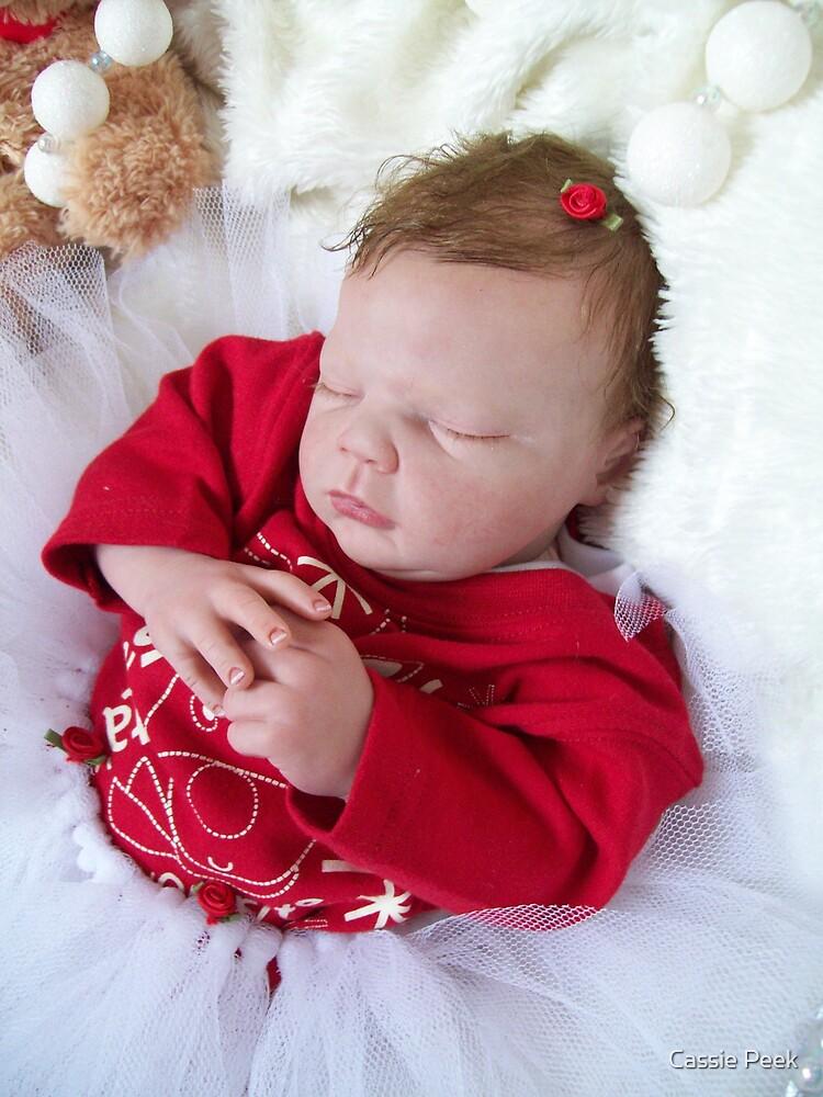 christmas baby by Cassie Peek